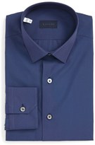 Lanvin Men's Trim Fit Solid Dress Shirt