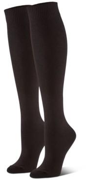 Hue Women's 3-Pk. Flat-Knit Knee Socks