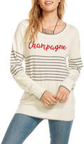 Chaser Striped Champagne Pullover