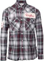 Miharayasuhiro patches plaid shirt