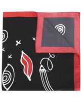 Sonia Rykiel mixed print scarf