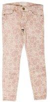 Current/Elliott Paisley Print Stiletto Jean w/ Tags