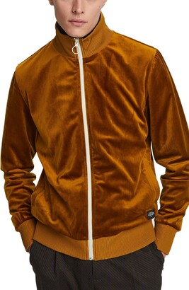 Scotch & Soda Velour Track Jacket