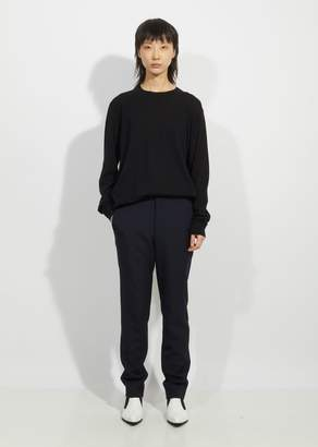 Comme des Garcons Wool Blend Flat Front Trousers