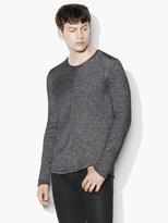 John Varvatos Chevron Crewneck Sweater