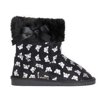 Muk Luks Girls Madison Butterfly Boots Fashion