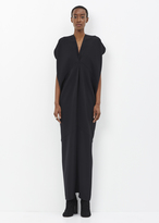 Zero Maria Cornejo black long seamed issa dress
