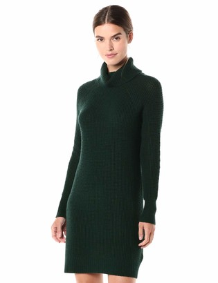 Amazon Brand - Daily Ritual Women's Wool Blend Turtleneck Sweater Dress