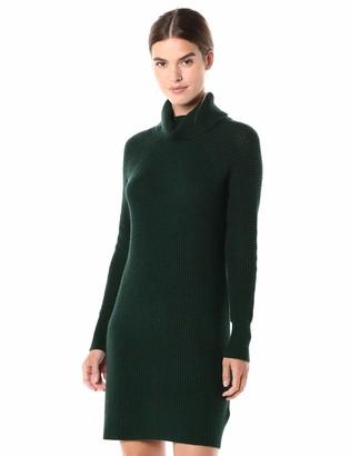 Daily Ritual Amazon Brand Women's Wool Blend Turtlneck Sweater Dress