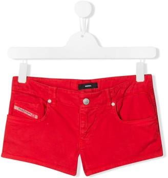 Diesel TEEN slim-fit denim shorts