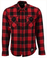 Levi's Men's Atlanta Falcons Plaid Barstow Western Shirt