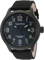Nautica Men's NAD11515G NCC 01 DATE Analog Display Quartz Watch