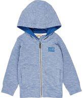River Island Mini boys blue lightweight hoodie