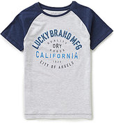 Lucky Brand Big Boys 8-20 Dry Goods Short-Sleeve Raglan Tee
