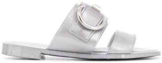 Salvatore Ferragamo Gancio slide sandals