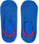 Pantherella - Polka-dot Stretch-egyptian Cotton No-show Socks