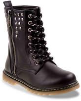 KensieGirl Girls Harley Toddler & Youth Boot -Black