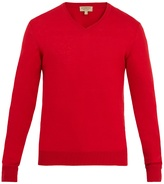 Burberry Randolf V-neck cashmere-blend sweater
