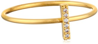 Tai Gold Stick Stackable Ring Size 5