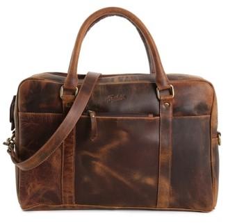 Florsheim Leather Messenger Bag