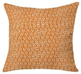 "DENY Designs Aimee St Hill Skulls Throw Pillow Orange (20"" x 20"