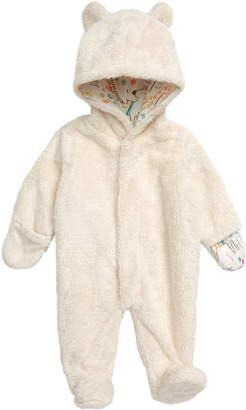 Minky Magnetic Me Fleece Hooded Footie