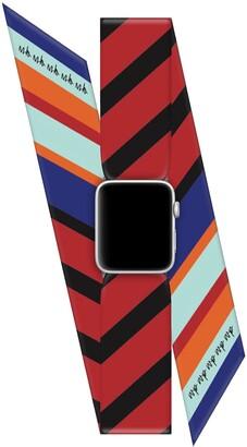 Wristpop Blue Bubble Gum 42mm/44mm Apple Watch Scarf Watch Band