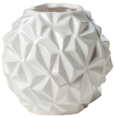 Torre & Tagus Crumple Ball Small Vase