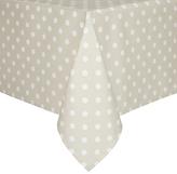 John Lewis Polka Dot Wipe Clean Tablecloth