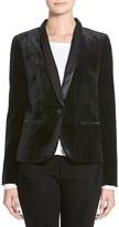 James Jeans Women's Satin Combo Jacket