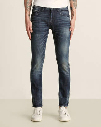 PRPS Halo Effect Windsor Tapered Skinny Jeans
