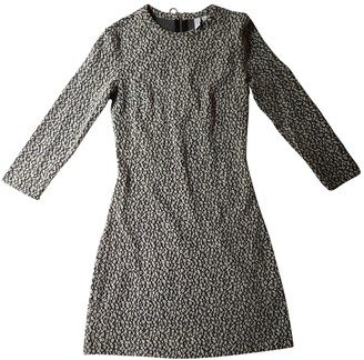 And other stories & & Stories Grey Cotton - elasthane Dress for Women