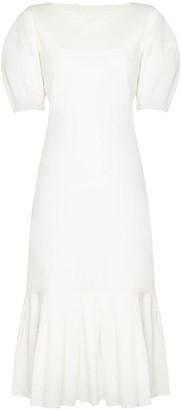 ST. AGNI Kazumi open-back midi dress