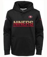 Nike Kids' San Francisco 49ers Circuit PO Hoodie