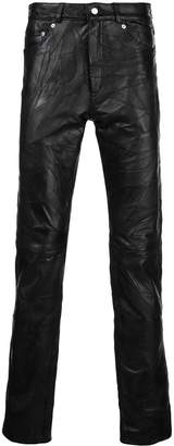 Cmmn Swdn slim ruched trousers