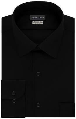 Van Heusen Lux Sateen Stretch Long Sleeve Dress Shirt