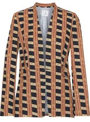 Stella Jean Printed Cotton-blend Twill Blazer