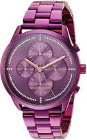 Michael Kors Women's 'Slater' Quartz Stainless Steel Casual Watch, Color: (Model: MK6523)