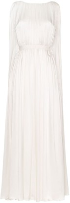 Roksanda Draped Silk Gown