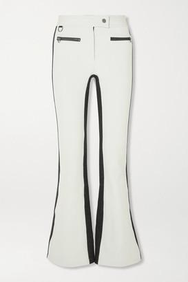 Erin Snow Phia Striped Ski Pants - White