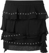 IRO eyelet ruffle skirt - women - Cotton/Viscose - 40