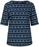 Sugarhill Boutique Sail Away Print Top