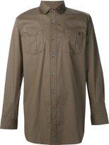 Publish button front long shirt