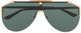 Gucci Tinted Aviator-Frame Sunglasses