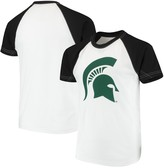 Unbranded Michigan State Spartans Wes & Willy Youth Swim Rash Guard T-Shirt - White