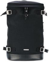 Saint Laurent Rivington Race backpack - men - Cotton/Leather - One Size