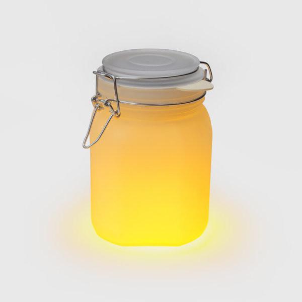 Suck UK Yellow Sunjar Solar Lamp