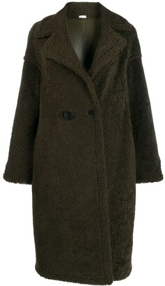 Liska Reversible Double Breasted Coat