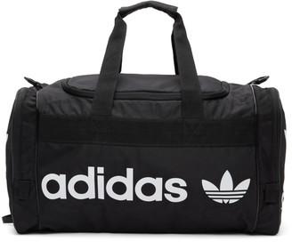 adidas Black and White Santiago 2 Duffle Bag