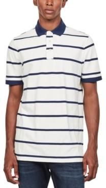 G Star Men's Fascia Striped Polo Shirt